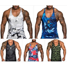 Camo BodyBuilding Tank Tops