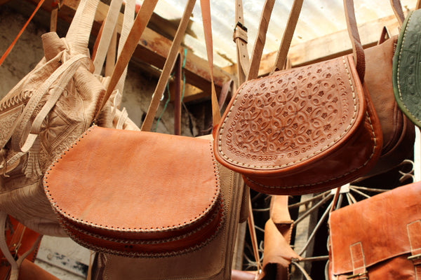 leather bag handmade