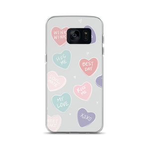 Candy Hearts Samsung Phone Case