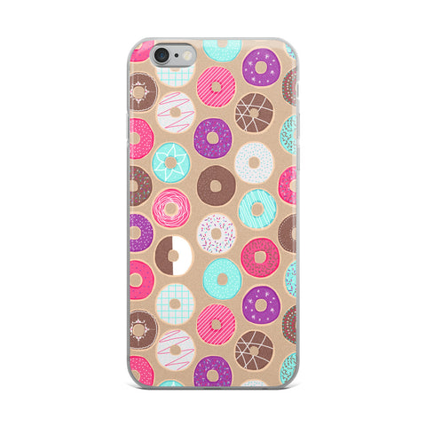Donut Feel Like Saturday iPhone Case