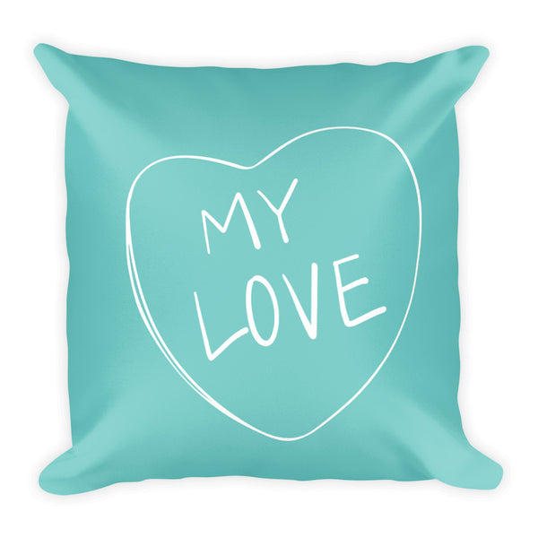 My Love Candy Heart Pillow