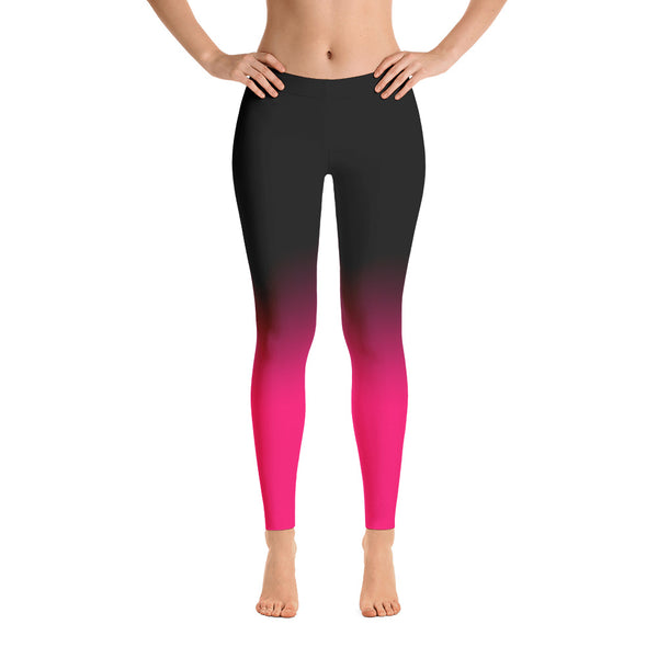 Fade to Black Leggings in Pink