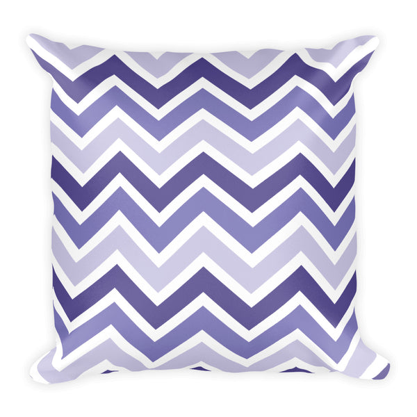 Ultra Violet Chevron Pillow