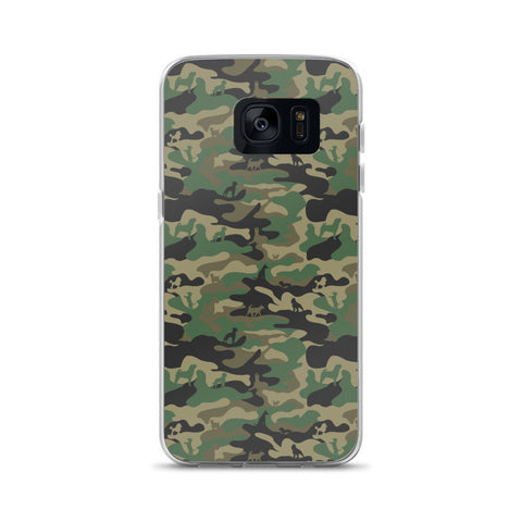 Year of the Dog Camo Samsung Phone Case