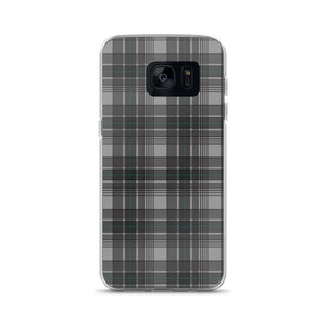 Mad About Plaid Grey Samsung Phone Case