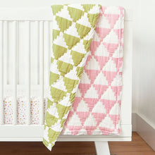 Organic Inca Watermelon Toddler Quilt