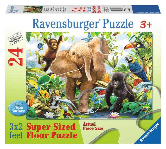 Jungle Juniors Puzzle