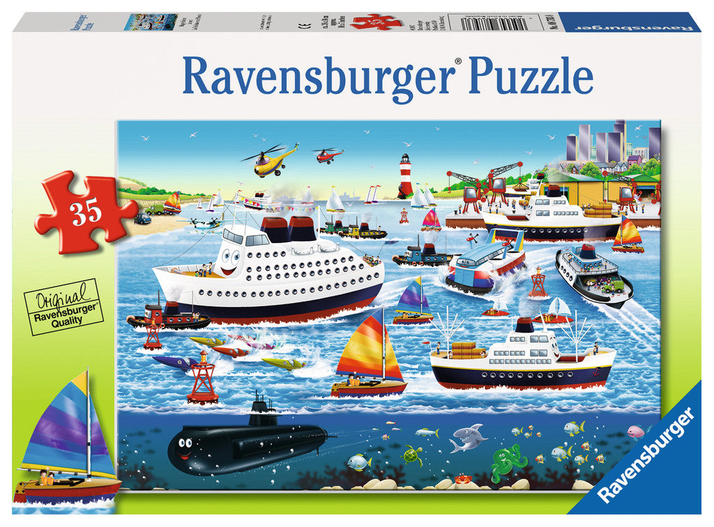 Happy Harbor Puzzle