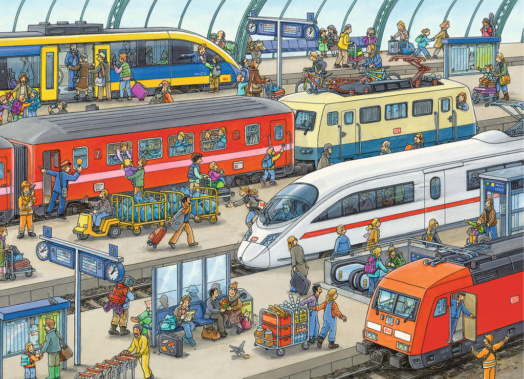 Railway Station Puzzle 60pc