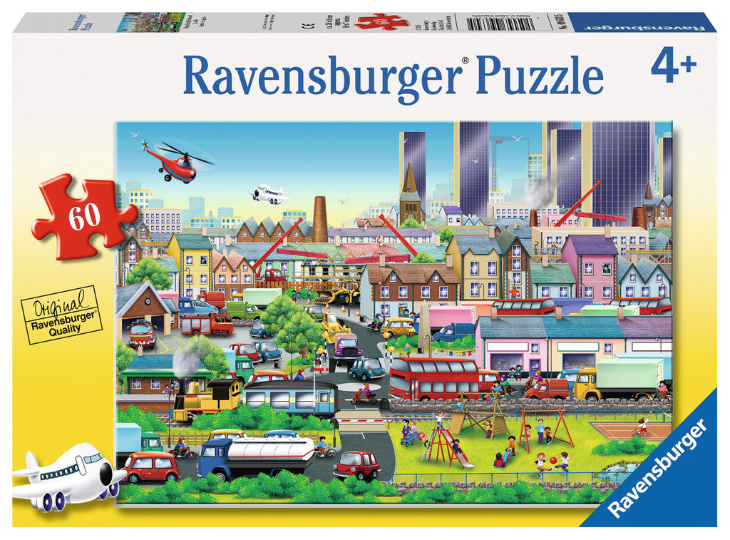 Busy Neighborhood Puzzle
