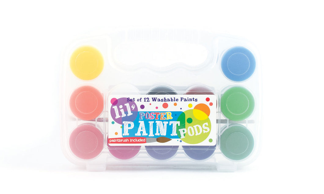 Lil' Poster Paint Pods - Set of 12 Colors