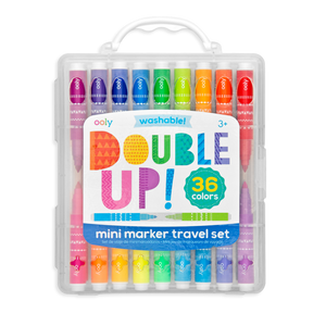 Double Up 2 in 1 Mini Marker Travel Set