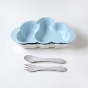 Cloud Plate Set Blue
