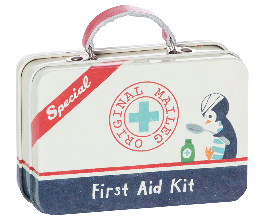 First Aid Metal Suitcase