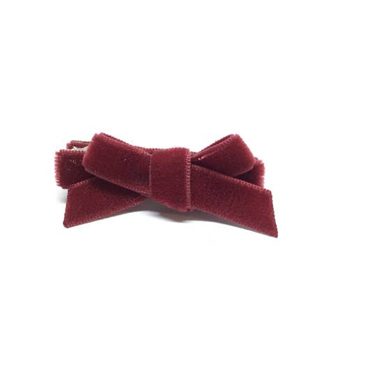 Velvet Mini Hair Bow