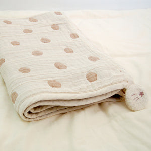 Pocho Organic 6-layer Cotton Gauze Blanket