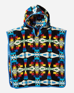 Tuscon Black Childrens Hooded Towel