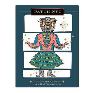 Patch NYC Metamorphosis Mix & Match Character Puzzle Set