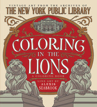Coloring the Lions: A Coloring Book