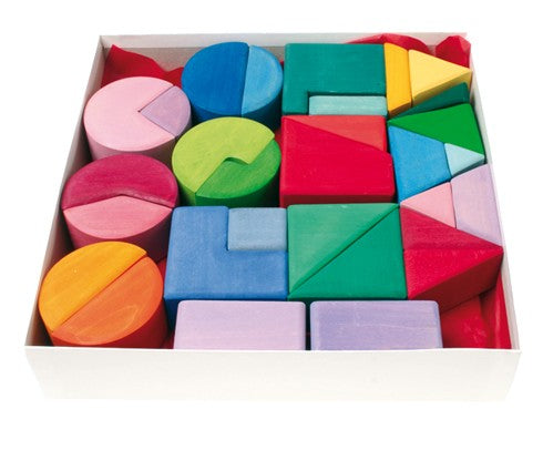 Building Set Triangle, Square, Circle