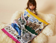 Big Adventure Knit Blanket