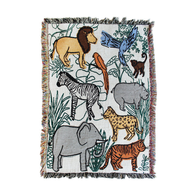 Into the Jungle Blanket