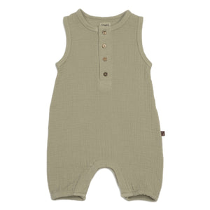 Organic Bubble Romper
