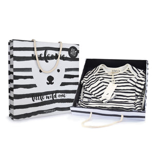 Little Wild One Layette Gift Set - Stripes