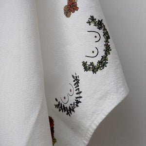 Breast Wreath Towel