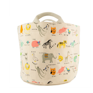 Alpha Critters Tote and Bin