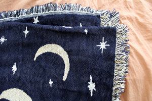 Moon Phases Blanket