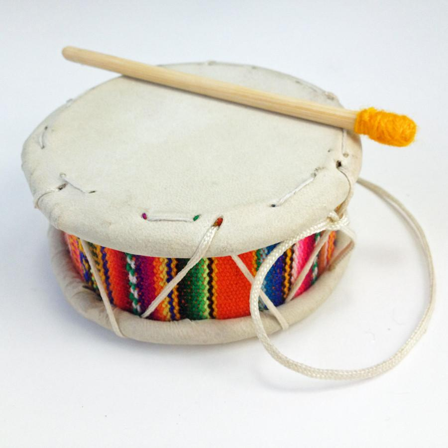 Textile Tinya with Padded Stick