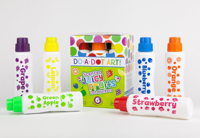 Do-A-Dot 6-Pack Juicy Fruits