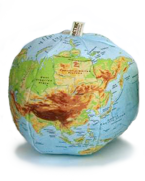 Organic Physical Globe