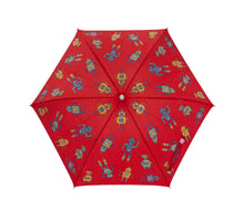 Red Robot Color Changing Umbrella