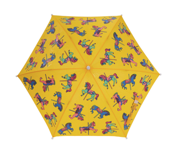 Carousel Color Changing Umbrella