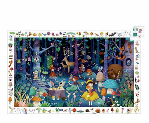 Enchanted Forest 100pc Puzzle