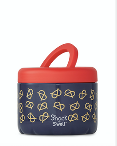 24oz Pretzels Snack Container