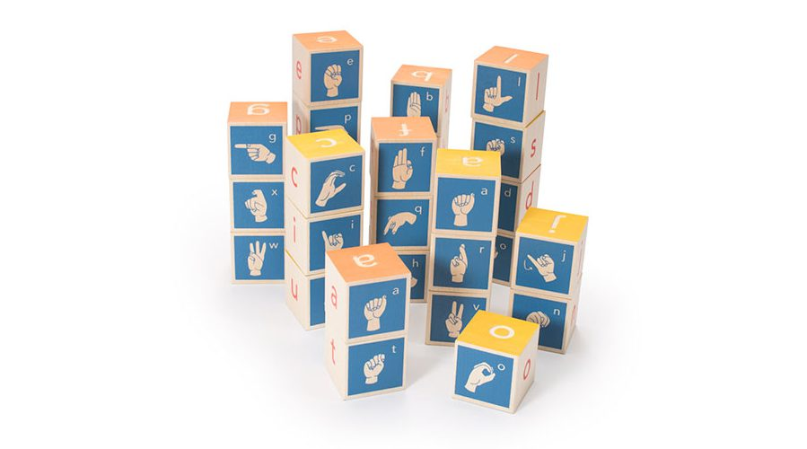 Sign Language Blocks
