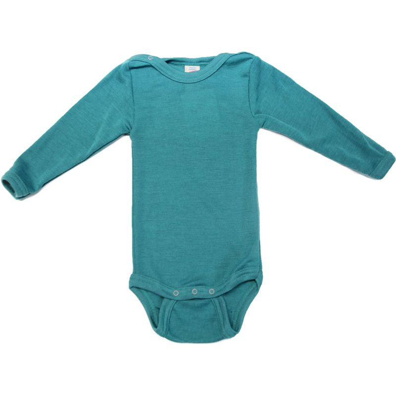 Wool Baby Body Long Sleeve