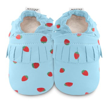 Strawberry Moccasins