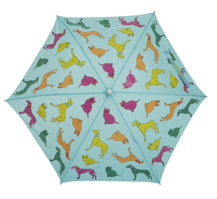 Dogs & Cats Color Changing Umbrella