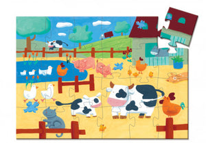 The Cows on the Farm 24pc Puzzle