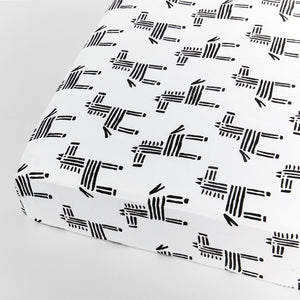Organic Zebra Toddler/Crib Sheet