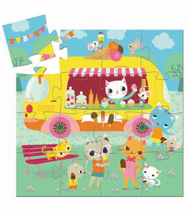 Ice Cream Truck 16pc Puzzle