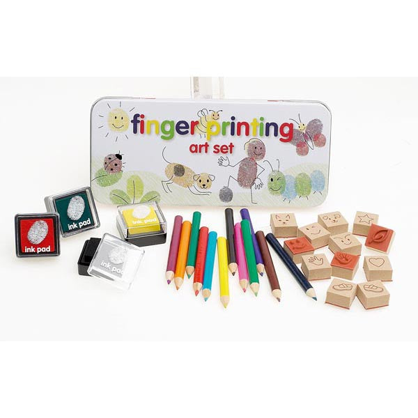 Fingerprinting Art Set