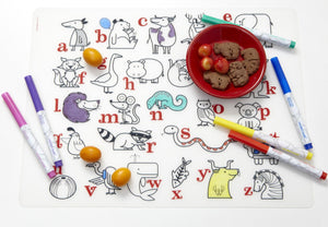 Mark-mat: Alphabet Animals
