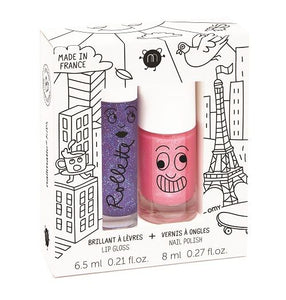 Rollette + Nail Polish Duo Set