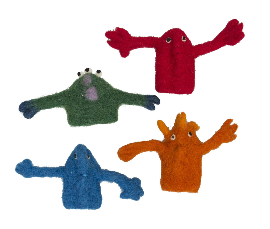 Monster Finger Puppets Box Set/4