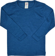 Wool Long Sleeve Children's Shirt